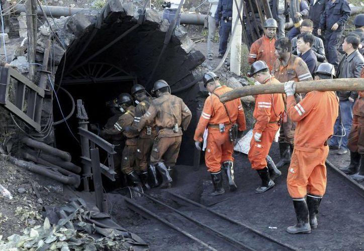 La industria minera en China está considerada como una de las más peligrosas del mundo debido a sus bajos estándares de seguridad. (Archivo/AP)