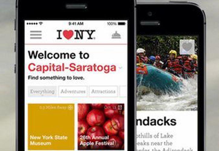 La aplicación 'I love NY' está inicialmente disponible para dispositivos móviles con sistema operativo iOS (iPhone) y Android.(itunes.apple.com)