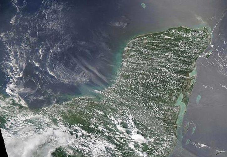 Las nubes de polvo saharianas llegan cada año a la Península de Yucatán. (SIPSE)