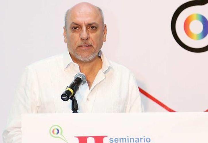 El director general del Conacyt, Enrique Cabrero Mendoza, destacó la importancia de la difusión de la ciencia y sus beneficios sociales.  (cronica.com.mx)