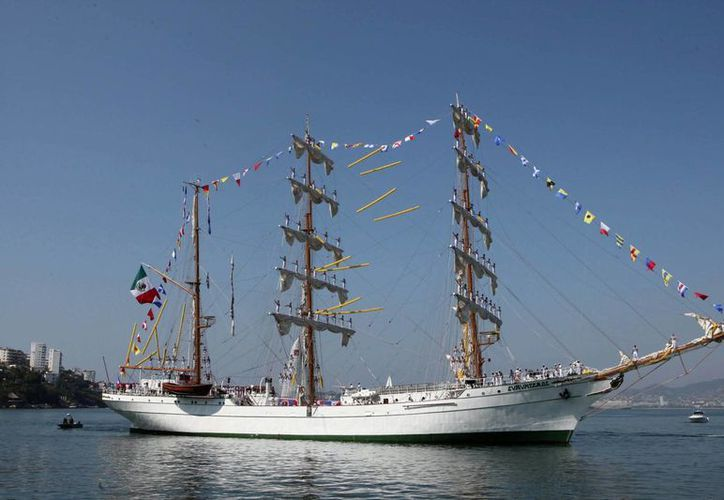 """El llamado """"Caballero de los mares"""" hará varias escalas en puertos europeos. (Archivo)"""