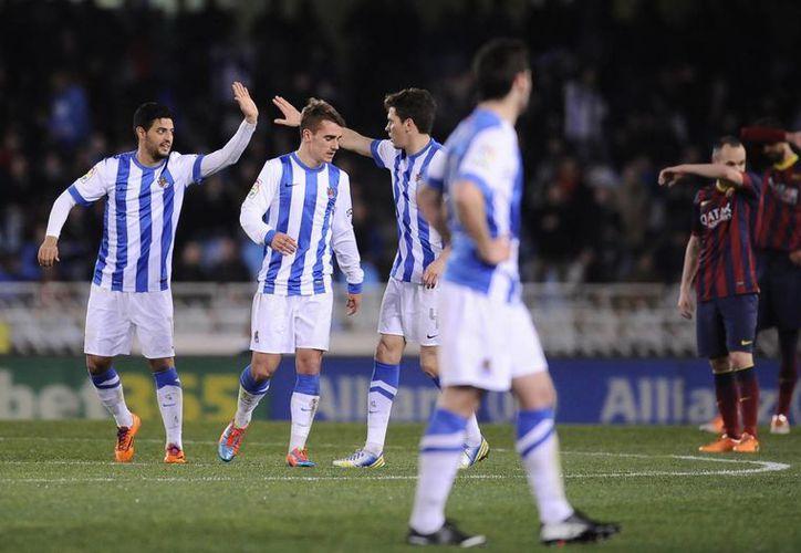 Con la victoria, la Real Sociedad subió al quinto puesto de la Liga de España. (Foto: Agencias)