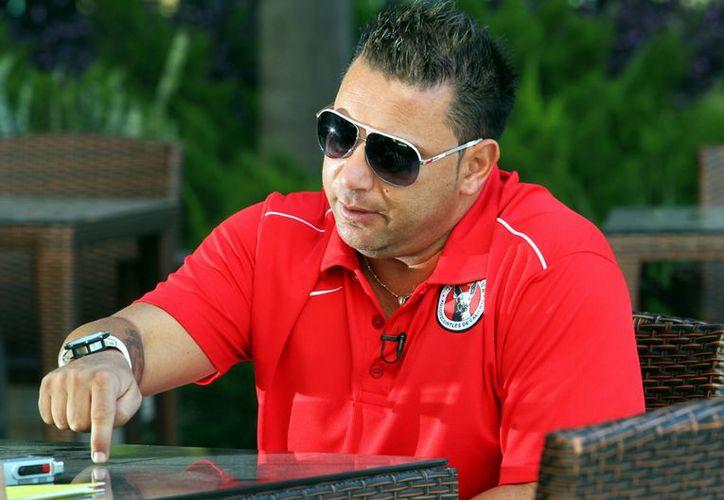 El director técnico del Tijuana, Antonio Mohamed, El 'Turco'. (Agencia Reforma)