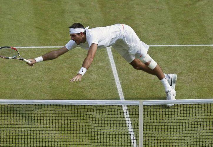 Djokovic reconoció que Del Potro (foto) 'en los momentos duros saca tiros imposibles'. (Agencias)