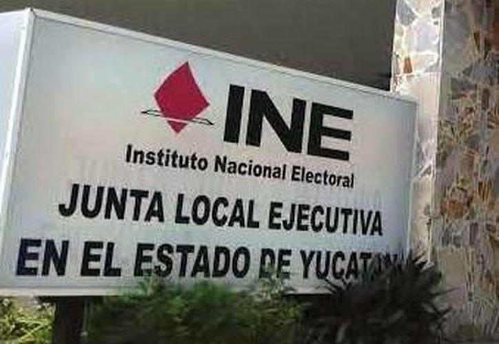 Imagen de las oficinas del INE, donde fueron presentadas quejas electorales. (Milenio Novedades)