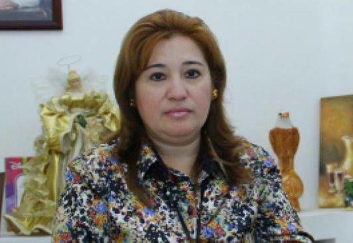 Celia Rivas: no tenemos un reporte masivo de denuncias por billetes falsos. (SIPSE)