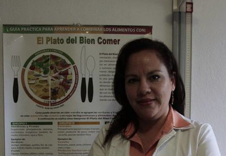 Caribe Revilla Velásquez dijo que se presentará hoy el colegio de manera oficial. (Tomás Álvarez/SIPSE)