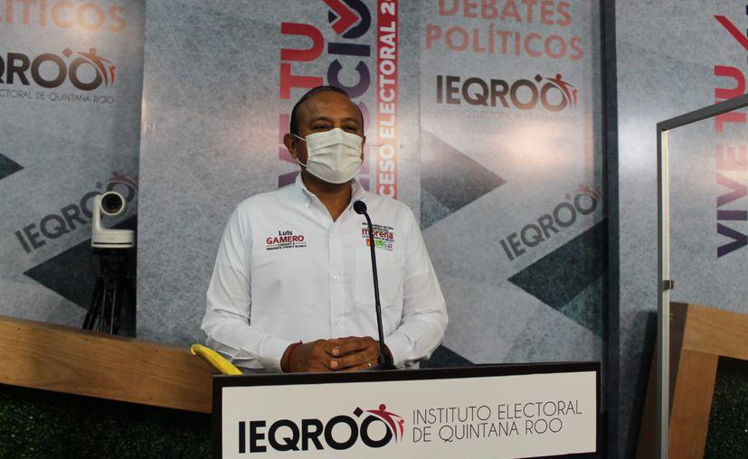 Quitan candidatura a Luis Gamero Barranco por violencia política. (Foto: Captura de pantalla)