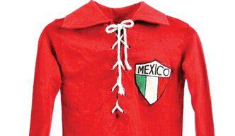 Subastan camiseta del Tri, del primer Mundial