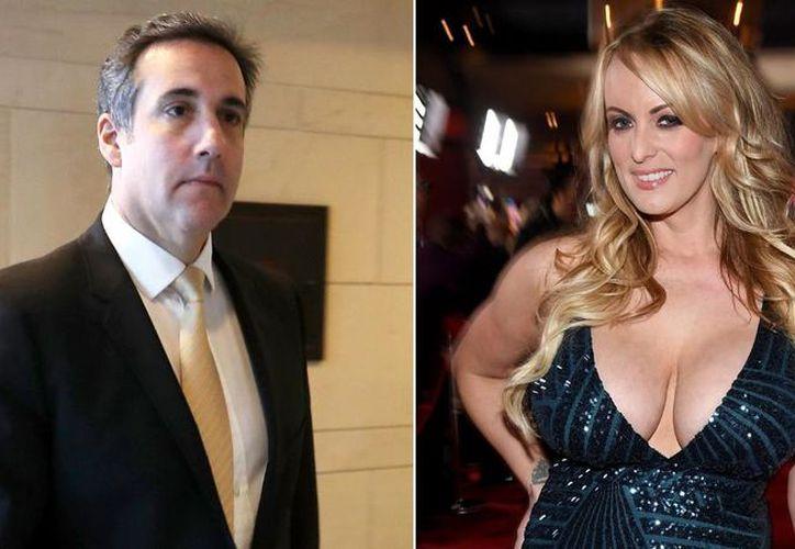 El abogado Michael Cohen aceptó haber dado dinero a Stormy Daniels para que no revelara su relación íntima con el entonces candidato Donald Trump. (Internet)