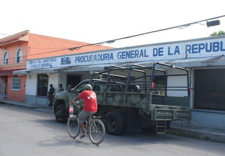 La PGR en Quintana Roo busca a las personas de origen extranjero por delitos como violación a la Ley de Armas Prohibidas. (Marco Do Castella/SIPSE)