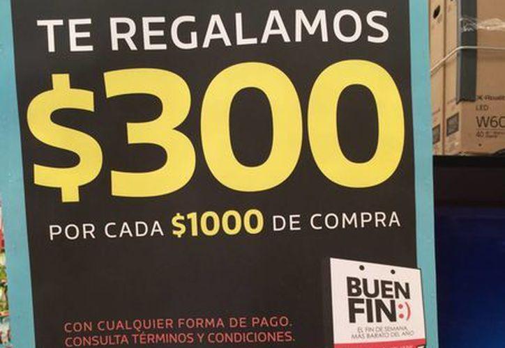 La edición 2015 de El Buen Fin iniciará el próximo 13 de noviembre. (Archivo/Notimex)