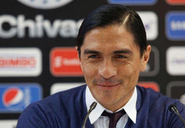 'El Gatillero' Francisco Palencia, quien comenzará en España su fase como entrenador de futbol soccer, menciona que le gustaría poder dirigir a algún equipo de la Liga MX.(AP)
