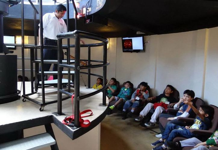 El Planetario de Cancún recibió durante el ciclo escolar pasado a más de 11 mil estudiantes. (Cortesía)