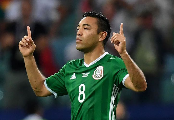 Marco Fabián metió el 'gol de la honra' en el partido contra Alemania. (Foto: Contexto/Internet)