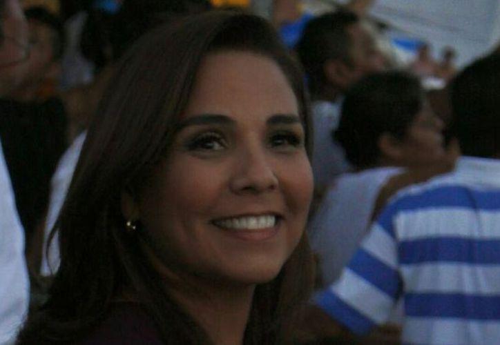 Mara Lezama, abanderada de Morena y PT al gobierno de Benito Juárez. (SIPSE)