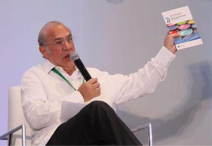 Según José Angel Gurría, secretario general de la OCDE, el potencial de crecimiento de América Latina pasó de 5 a 3. (Notimex)