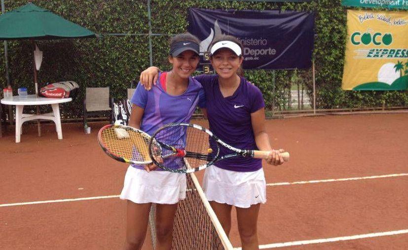 La dupla Itza Trabulse de México y Karla Cordero de Ecuador, avanza a la siguiente ronda en Bolivia. (Redacción/SIPSE)