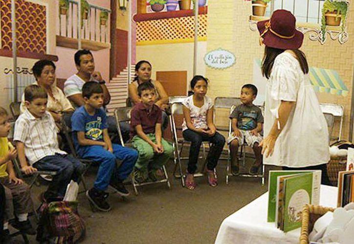 La cuarta edición de la Filey; arrancará en dos meses. Imagen de un curso literario a niños en el evento del año pasado. (Milenio Novedades)