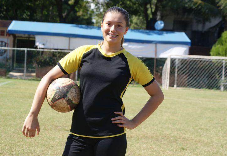 Samantha tiene en la mira jugar en el Pachuca de la Liga Femenil. (Foto: Ángel Villegas)