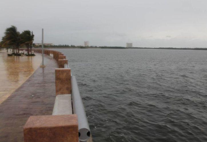 La rampa se construirá en el sur del Malecón Tajamar. (Israel Leal/SIPSE)
