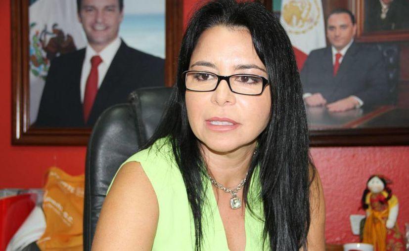 Lydia Portilla Mánica, directora de Relaciones Públicas del Ayuntamiento. (Tomás Álvarez/SIPSE)