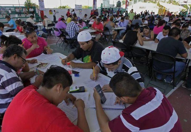 Continuarán con la aplicación de exámenes extraordinarios de apoyo. (Redacción/SIPSE)