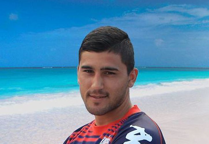 Gabriel Hachén, mediocampista argentino del Atlante considera que el equipo está preparado ara el rival. (Redacción/SIPSE)