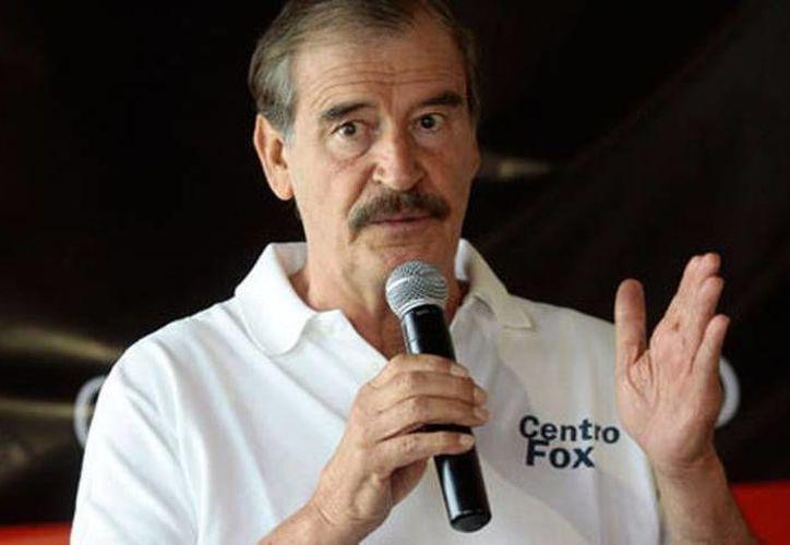 Vicente Fox declaró que el albergue La Gran Familia podría incluso recibir a 'ninis'. (Milenio/Foto de archivo)