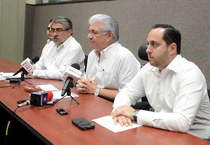 David Alpizar Carrillo, titular de la Sefoe, invitó a los interesados a presentar proyectos de software. (Milenio Novedades)