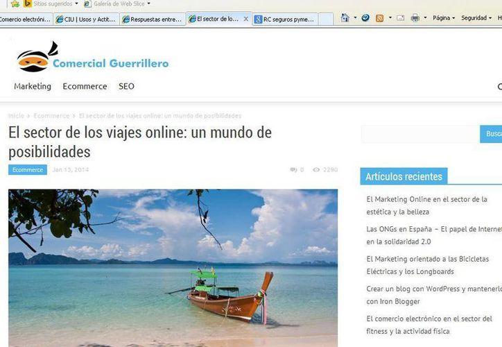 Unas de las razones de por qué los internautas mexicanos compran en línea, son debido a que les resulta práctico, ahorra tiempo y llega a domicilio. (Tomás Álvarez/SIPSE)