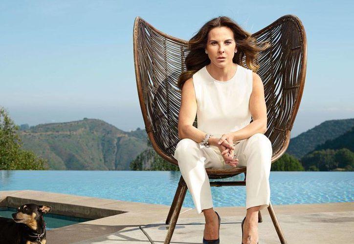 La actriz mexicana rompió el silencio sobre el caso 'El Chapo' Guzmán, a través de una entrevista a una revista de EU. (Foto tomada de la revista The New Yorker)