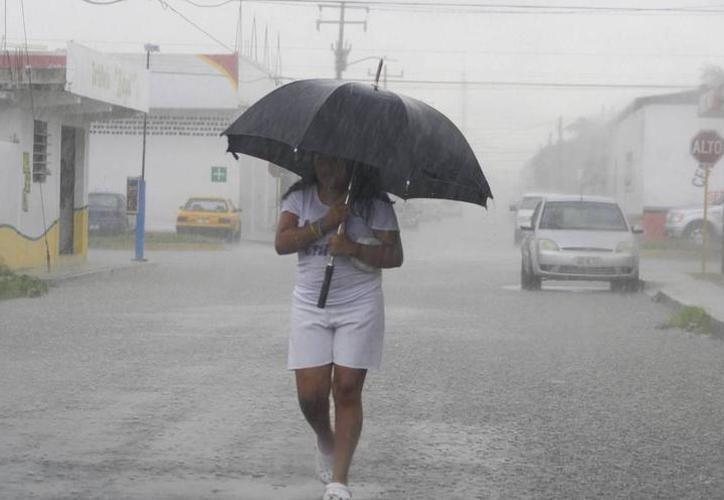 La entidad mantiene los pronósticos de lluvia durante el inicio de la semana. (Milenio Novedades)