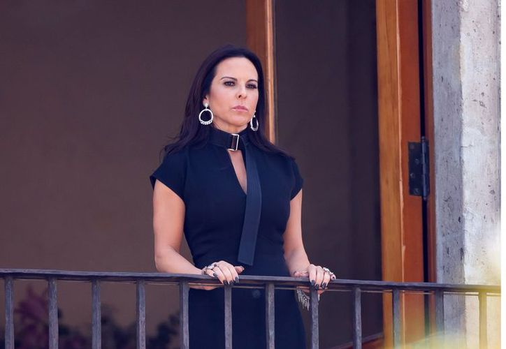La actriz dijo que apoya la legalización de la mariguana y, como lo ha asegurado en otras ocasiones, no se arrepiente de nada. (Agencia Reforma)