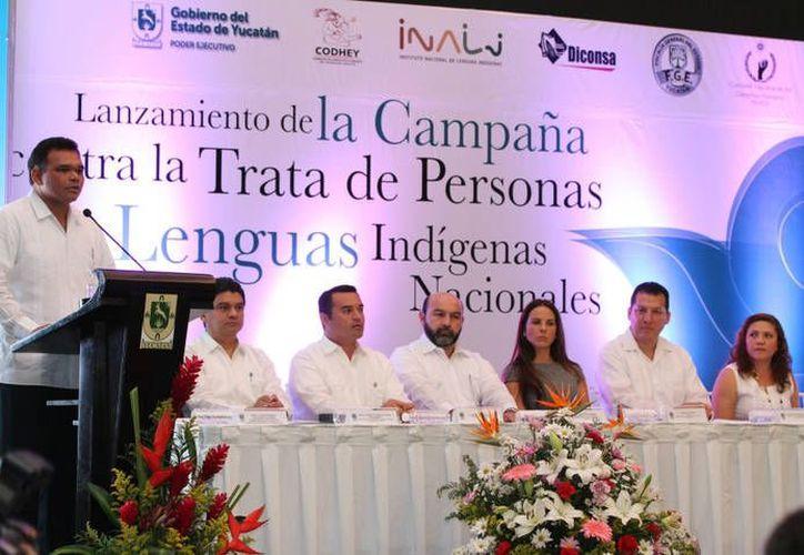 En Yucatán arrancó la campaña. (Cortesía)