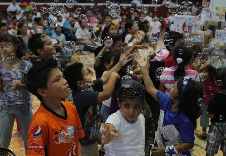 Habrán diversos festejos en el estado por el Día del Niño. (Cortesía/SIPSE)