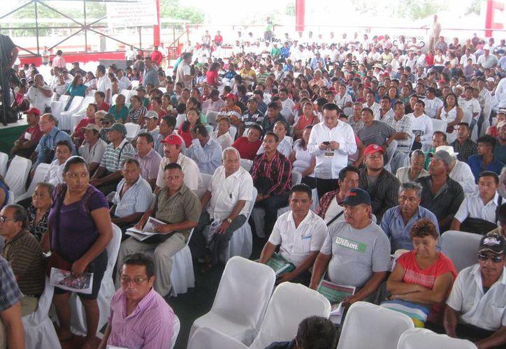Al evento asistieron aproximadamente 600 invitados. (Javier Ortiz/SIPSE)