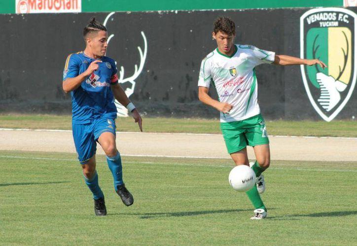 Venados Cantera aprovechó la única oportunidad clara de gol para ganar. (SIPSE)