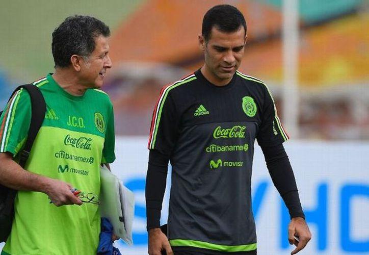 El zaguero mexicano Rafael Márquez reafirmó el deseo de poner punto final a su carrera con un viaje al Mundial de Rusia 2018. (Vanguardia MX)