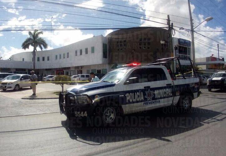 Se registró un robo en la Supermanzana 50 de Cancún. (Eric Galindo).