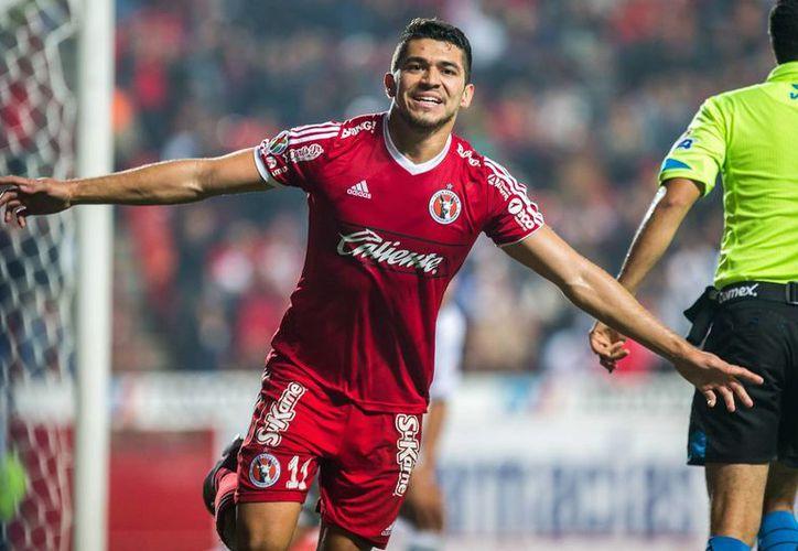 Henry Martin se lesionó en su primer partido con la Selección Mexicana, pero ahora podría jugar ante Aguilas del América. (Notimex)