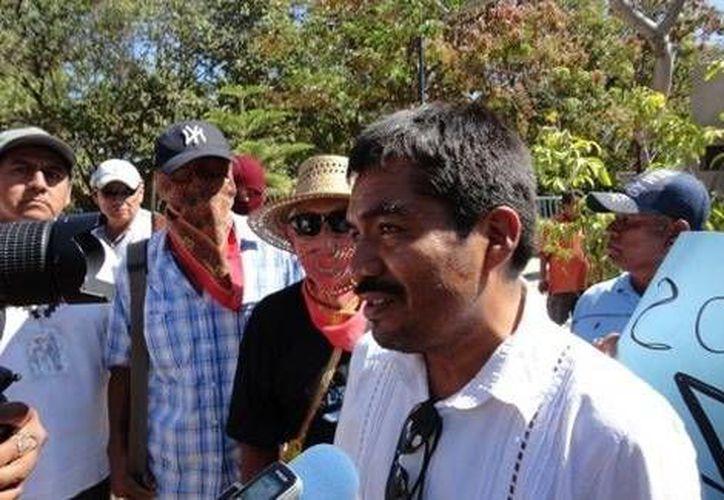 Bruno Plácido Valerio, líder de la Upoeg, estima que para este año la organización aumentarán su presencia en al menos siete municipios. (Milenio)