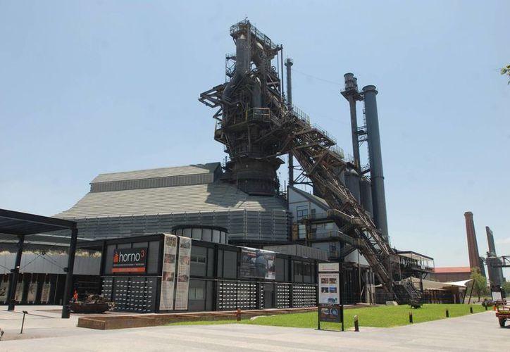 El Horno 3, de la ex Fundidora de Fierro y Acero de NUevo León, es hoy un museo de ciencia y tecnología. (Imagen de Notimex del 30 de junio de 2013)