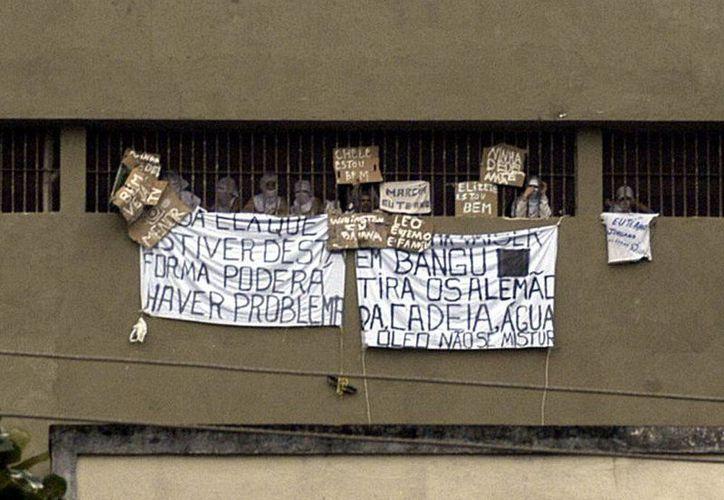 Brasil abandona la idea de recuperación de los reclusos, indica relator de la ONU. (EFE)