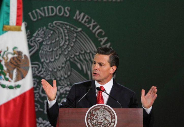 El Presidente de México dijo que, en materia de seguridad, cada entidad tiene su propia responsabilidad. (Archivo/Notimex)