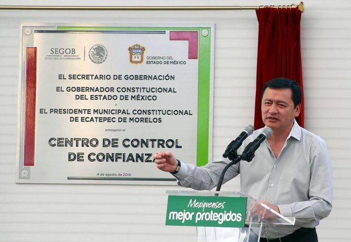 Osorio Chong aseguró que los delincuentes serán perseguidos con toda la fuerza del Estado. (Notimex)