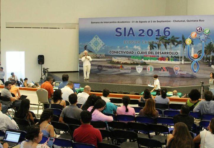 La Semana de Intercambio Académico (SIA) 2016 se llevó a cabo en Chetumal. (Carlos Horta/SIPSE)