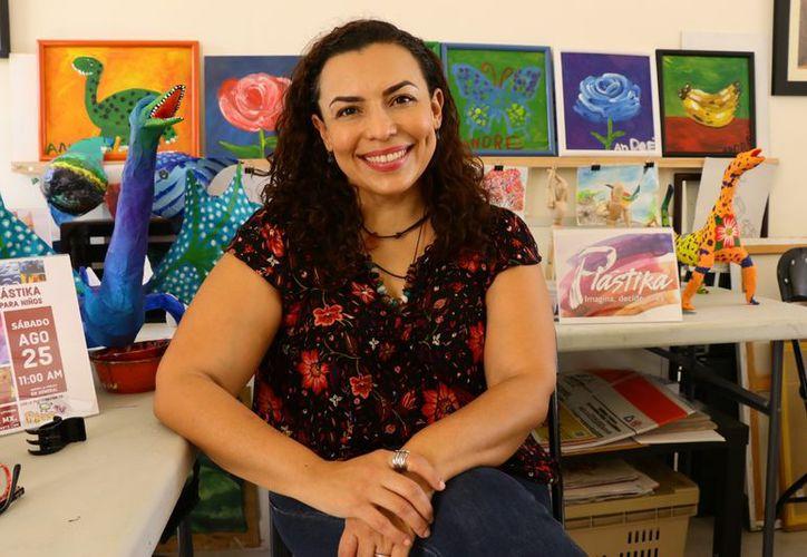 Los pequeños desarrollarán su creatividad, en busca de que sean personas propositivas, señaló la titular del taller, Ceyda Clemente. (Milenio Novedades)