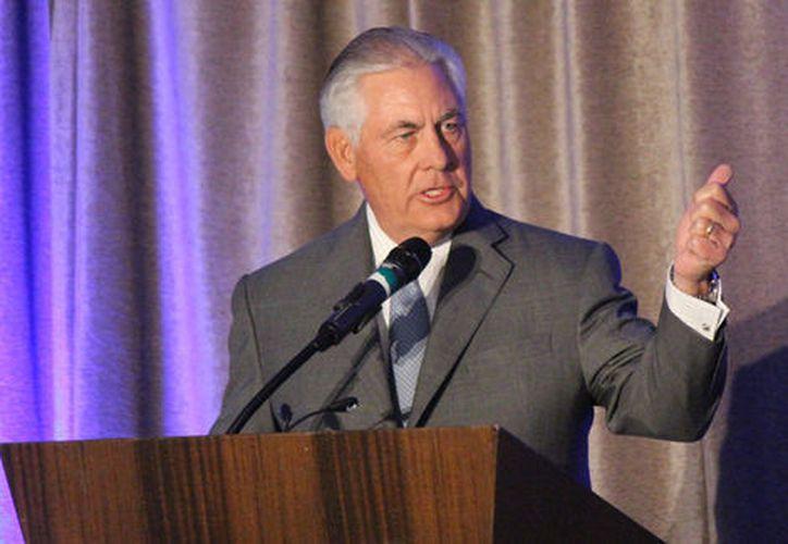 Tillerson dijo este lunes que el gobierno estadounidense ya tiene en vigor diversas sanciones contra Norcorea. (Foto: Milenio)