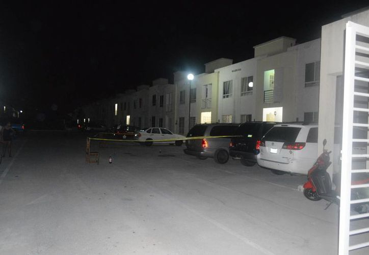 """El fraccionamiento La Joya fue el escenario donde Pedro """"N"""" descargo cinco disparos contra una casa ubicada en la privada Jazmín. (Eric Galindo/SIPSE)"""